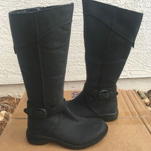 New Merrell black leather boots